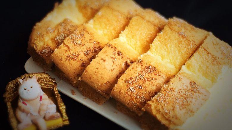 椰蓉蛋糕,换一个角度看看也很棒。