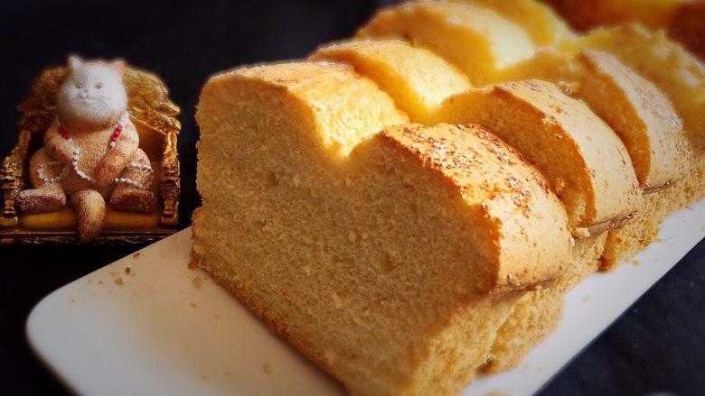 椰蓉蛋糕,可以品尝了。