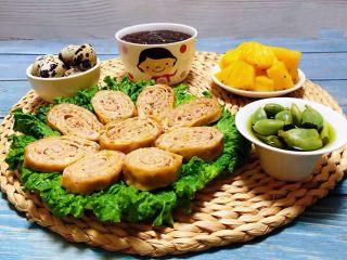 豆皮蒸肉卷,早餐就是要营养丰富各种混搭才开心