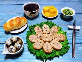 豆皮蒸肉卷,早餐吃的要开开心心非常满足这一天一定会拥有愉悦的心情