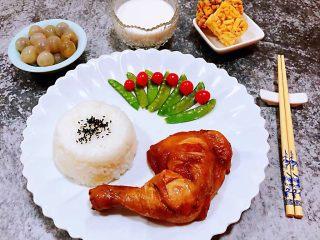 红烧鸡腿,这样的早餐方便快捷好吃还营养哦