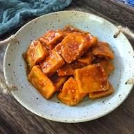 豆腐怎么做好吃?试试叉烧豆腐,比肉还好吃哦!