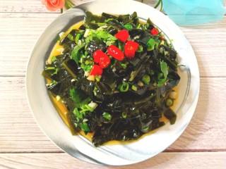 凉拌海藻菜,清脆爽口的海藻菜