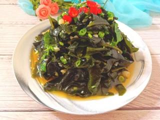 凉拌海藻菜,成品图