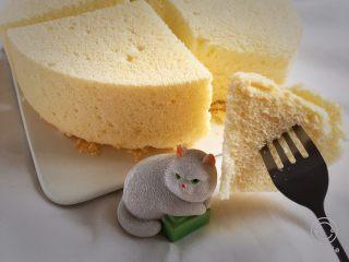 白皮戚风蛋糕