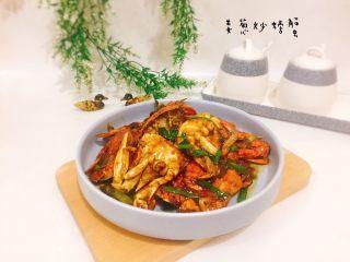 姜葱炒螃蟹