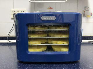 小零食 菠萝花,将机器门关上,连接电源。