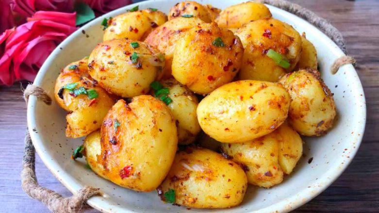 孜然小土豆,成品图一