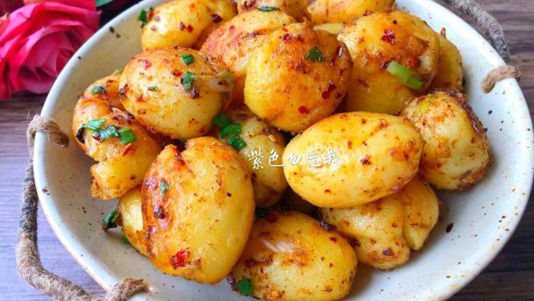 孜然小土豆,成品图二