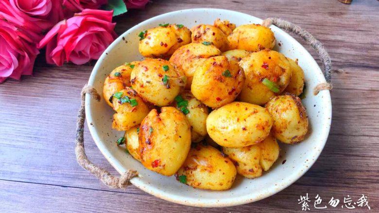 孜然小土豆,成品图三