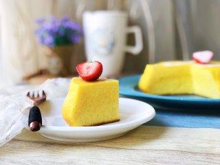 日式舒芙蕾芝士蛋糕,成品2
