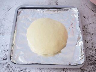 芝士榴莲饼,放入烤盘