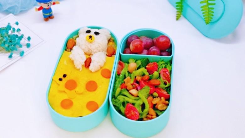 小熊便当套餐
