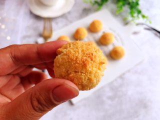 黄金椰子球,成品