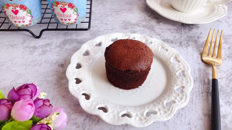巧克力纸杯蛋糕