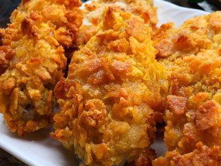 薯片鸡翅,真的是巨好吃又美味,一点也不腥,外脆里嫩,连吃三个都不过瘾,比油炸更健康!