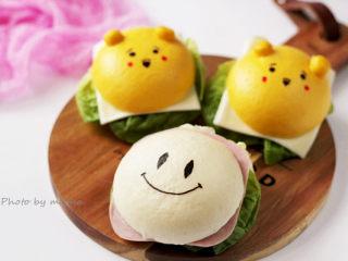 中餐西吃滴【卡通馒头汉堡包】