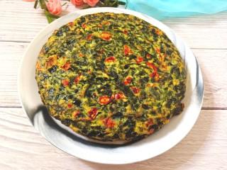 煎海藻鸡蛋饼