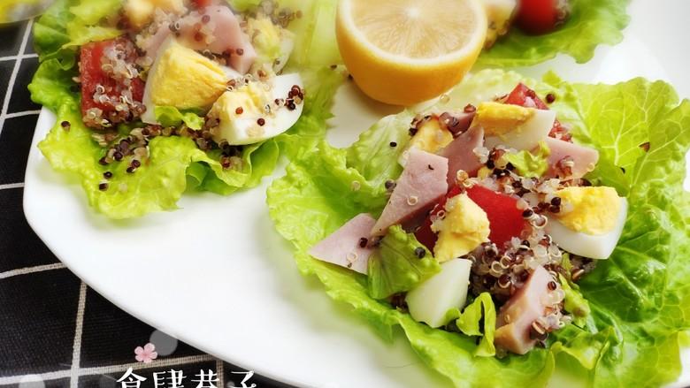 藜麦生菜沙拉