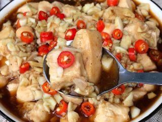 蒜蓉蒸鸡胸肉,水开上锅蒸20分钟即可出锅啦