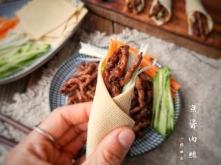 京酱肉丝,美美的开吃吧!