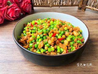 蒜苔炒肉末