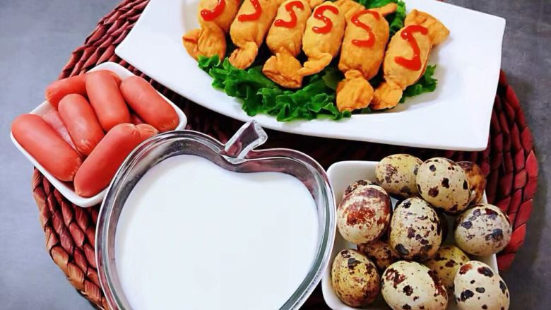 糖果肠饺,一顿丰盛的早餐会让孩子开开心心的开启一天的生活