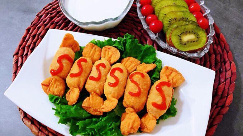 糖果肠饺,热爱生活的人每天都很开心