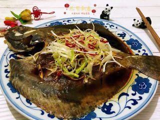 清蒸多宝鱼,多宝鱼营养价值很丰富鱼刺少适合老人孩子食用