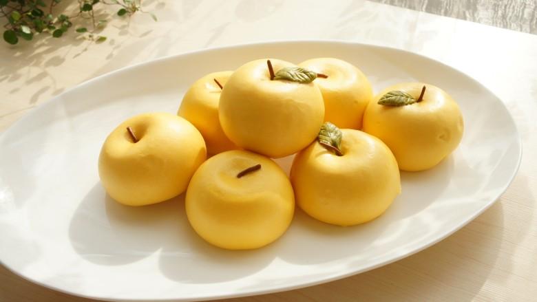 金苹果馒头(肉松包)