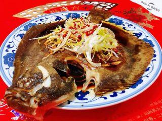 清蒸多宝鱼,清蒸多宝鱼是宴客必备的拿手大菜噢