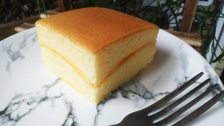 芝士夹心蛋糕