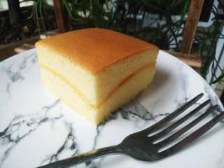 芝士夹心蛋糕,成品图