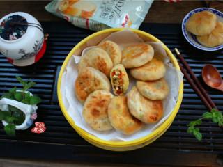 学生营养早餐饼,成品图