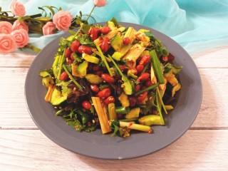 黄瓜腐竹大拌菜