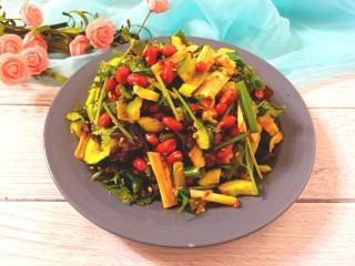 黄瓜腐竹大拌菜,成品图