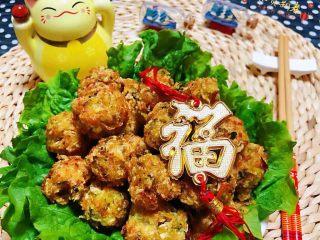 酥炸萝卜丝丸,炸萝卜丝丸子是经典传统美食