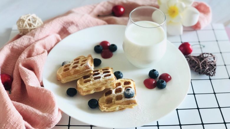 早餐华夫饼
