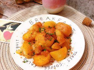 香辣小土豆,可以开吃了,真的超级的香😋