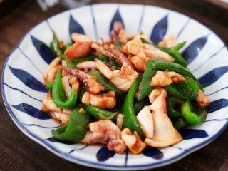 鱿鱼炒青椒,图三