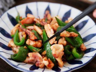 鱿鱼炒青椒,图四