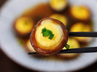 香菇蒸鹌鹑蛋,图四