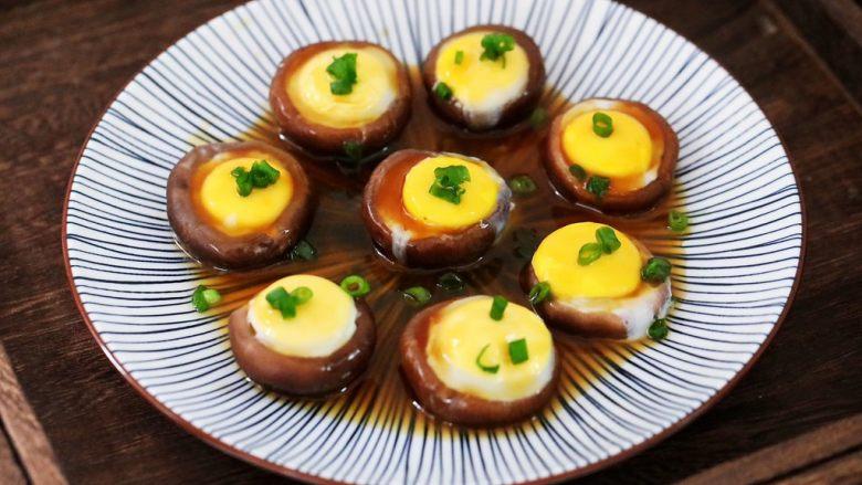 香菇蒸鹌鹑蛋,图二