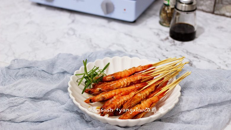 意大利风味烤虾