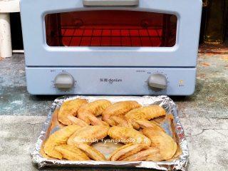 咖喱烤鸡翅_1557649375161,烤箱预热230度10分钟