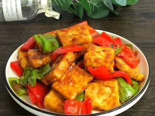 炒脆皮豆腐
