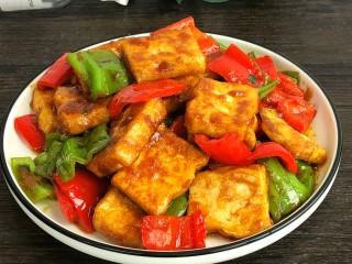 炒脆皮豆腐,好吃到爆炸的炒脆皮豆腐就好了!