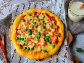 去必胜客吃披萨太贵了,在家用个平底锅就能做