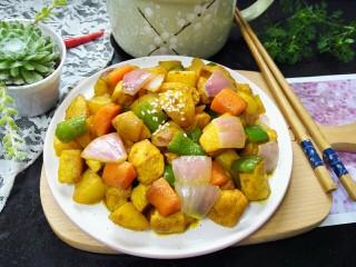 咖喱土豆鸡丁