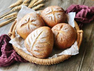 红糖黑麦养生面包